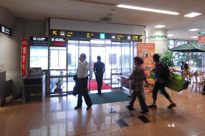 宮崎空港正面出口