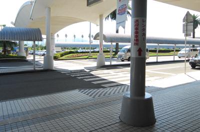 宮崎空港正面