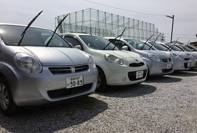 トヨタpassoレンタカー画像